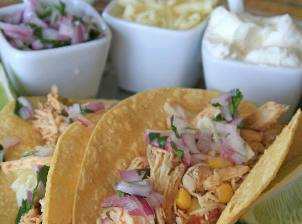 Lime Cilantro Chicken Tacos Recipe