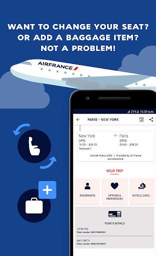 Air France - Airline tickets screenshot 4