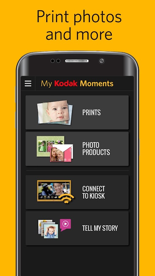 My KODAK MOMENTS- screenshot