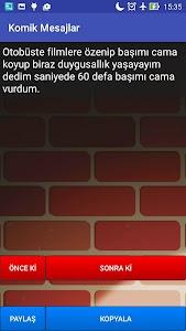 Komik Mesajlar screenshot 3