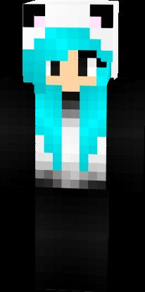 Cute Panda Girl Nova Skin