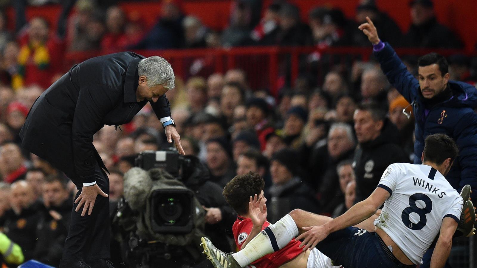 Манчестер Юнайтед - Тоттенхэм, 2:1