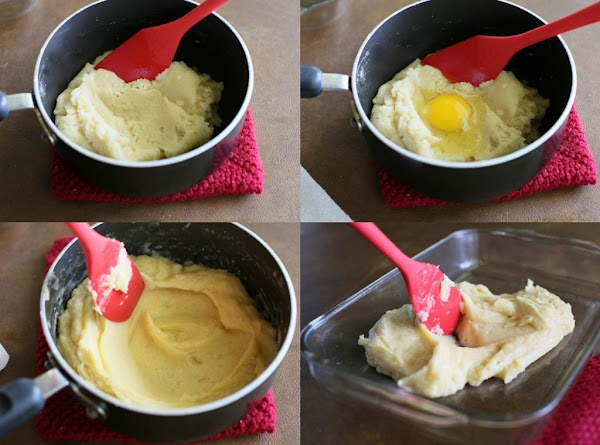 For the Eclair Crust: In a medium saucepan, melt butter in water and bring...