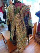 Photo: artist's saori bias cut   coat