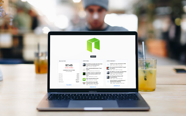 NEO Tab - Streaming price & market info.