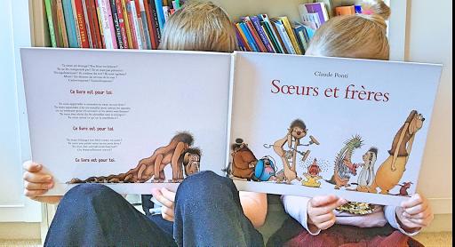 Soeur et frères, de Claude Ponti, sélection jeunesse de Clémentine Galey, fondatrice du podcat Bliss Stories