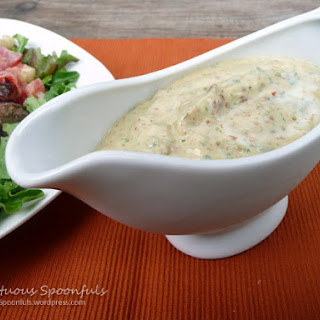 Sundried Tomato Buttermilk Ranch Salad Dressing (or Dip)