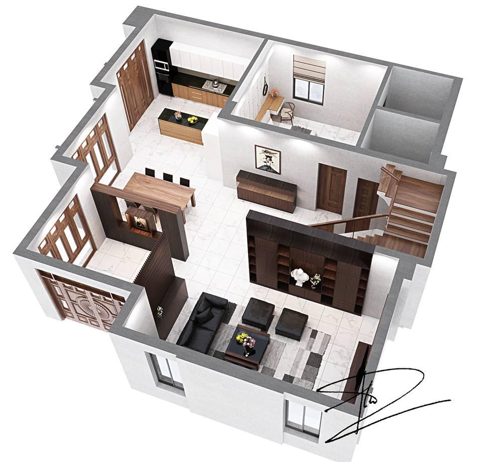 Bố trí mặt bằng căn hộ