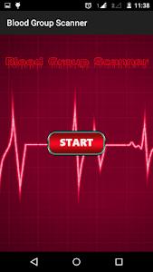 Blood Group Scanner Prank screenshot 0