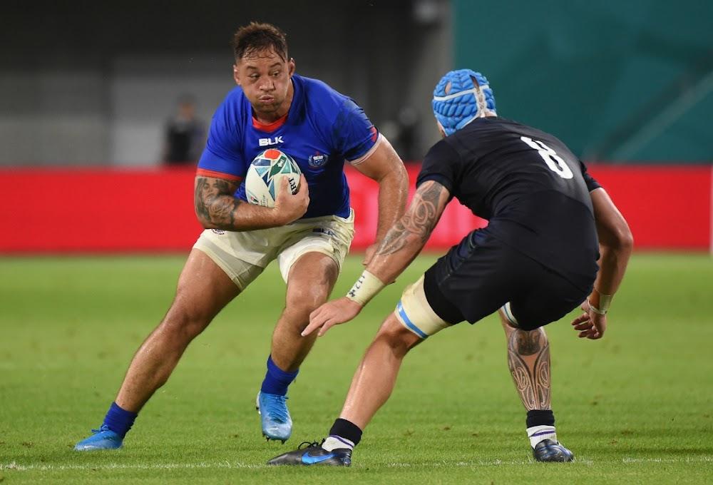 Strafdoele help Skotland om Samoa met 'n bonuspunt te wen