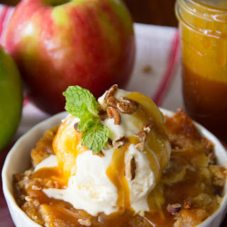 Salted Caramel Apple Dump Cake {VIDEO}