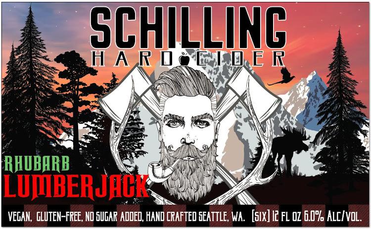 Logo of Schilling Lumberjack Rhubarb Pear Cider