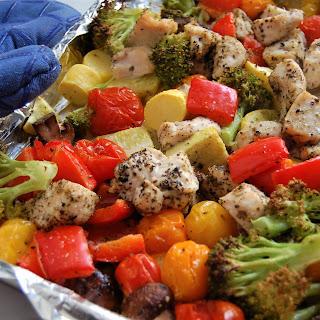 Sheet Pan Chicken & Veggies (Easy, 30 Minutes, Gluten-Free) Recipe