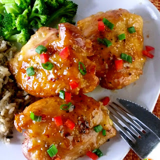 Citrus Chicken Thighs