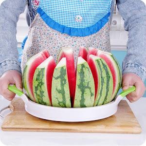 Dispozitiv pentru feliat pepene, diametru 30 cm