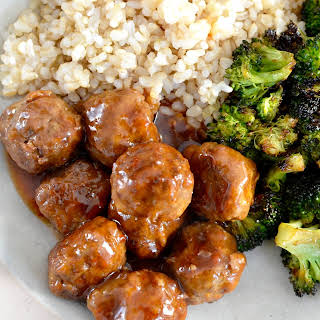 Paleo Sweet and Sour Meatballs.