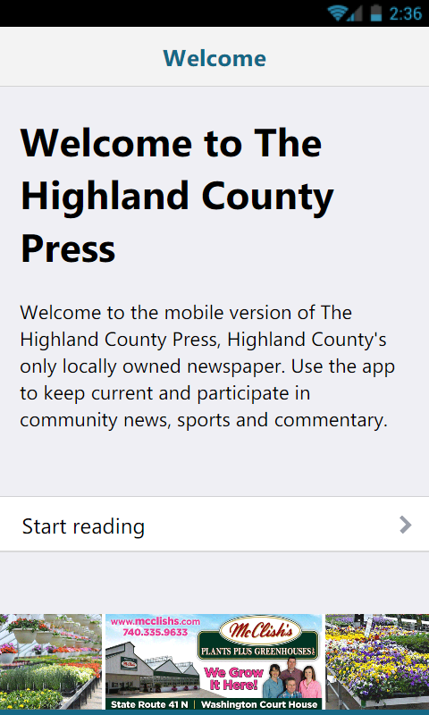 The Highland County Press- screenshot