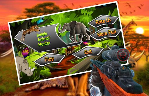 Jungle Animal Hunter Strike