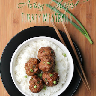 Asian Glazed Turkey Meatballs
