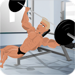 Bodybuilding and Fitness game Icon