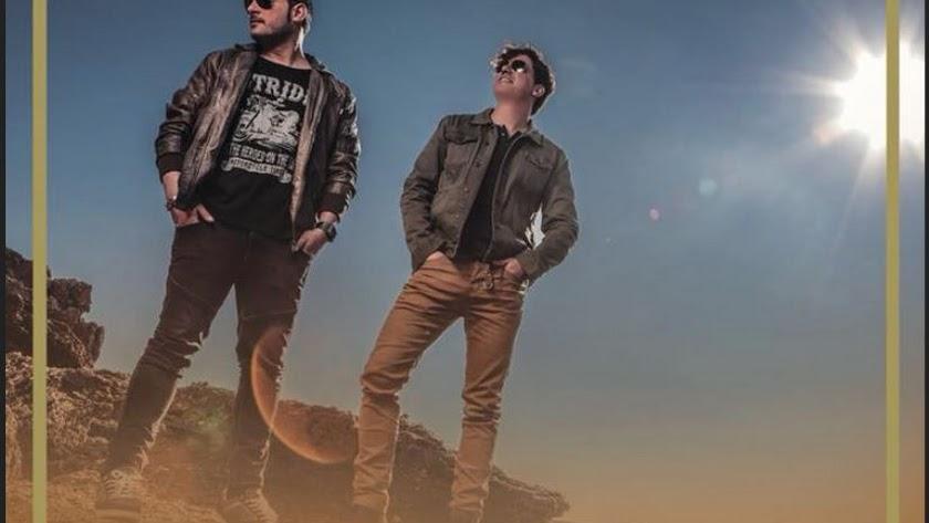 Cartel anunciador del concierto de Andy y Lucas.