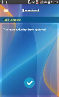 Sacombank mSign - náhled