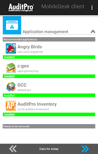 AuditPro MobileDesk Client- screenshot thumbnail