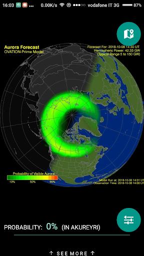 Northern Eye Aurora Forecast 3.3 screenshots 2
