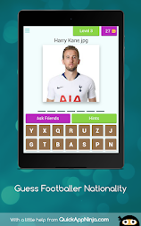 Guess Footballer Nationality APK screenshot thumbnail 11