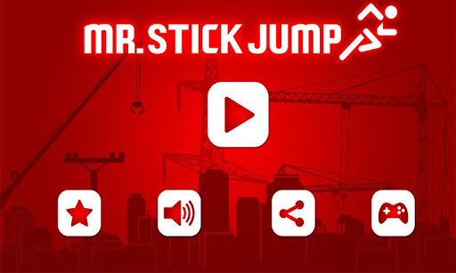 Mr.Stick Jump:Runner Machine