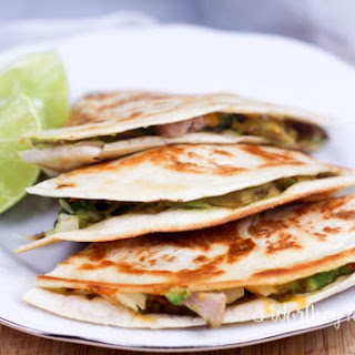 Mega Stuffed Quesadillas