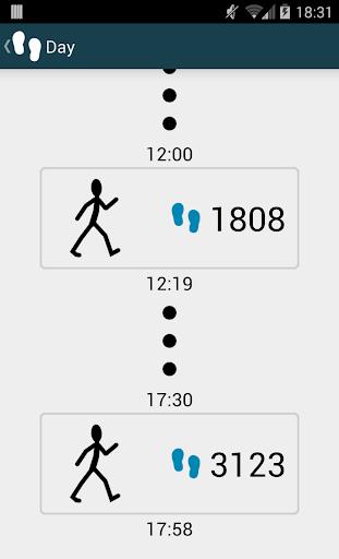 WalkLogger pedometer screenshot 6