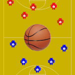 Tactic Board Basketball Icon