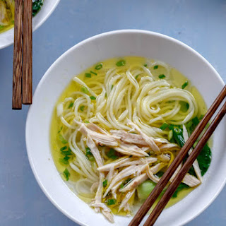 Chinese Chicken Noodle Soup.