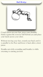 Stability Ball workout Exercise - Ball Exercise for PC-Windows 7,8,10 and Mac apk screenshot 3