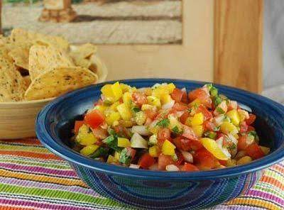 Peach Tomato Salsa Recipe