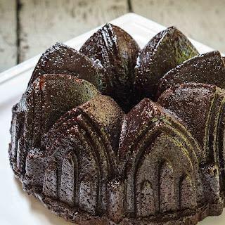 Raspberry Chocolate Pound Cake