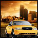 Dubai Taxi Drive Game 3D icon