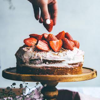 Cardamom & Orange and Berry Layer Cake.