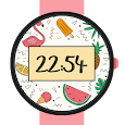 Summer Flamingo Watch Face -