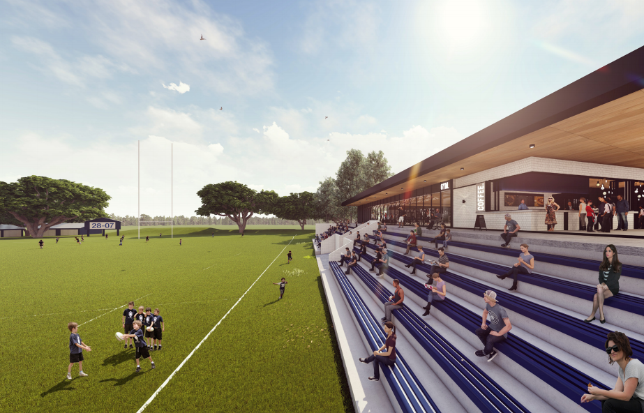 DA Lodged for Brothers Rugby Union Club Refurbishment Masterplan