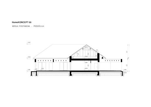 Koncept-68 - Przekrój