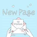 YDNewpage™ Latin Flipfont icon