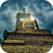 Bulldozer. Heavy Machines Wallpaper