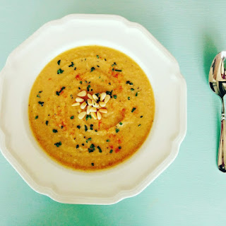 Vegan Summer Squash Soup