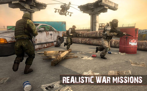Army Frontline Mission : Counter Terrorist War  screenshots 9