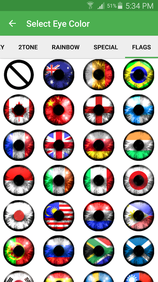 eye color changer screenshot - Color A Picture
