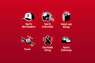 "Photo: Custom Icon Design - ESPN, ""Sports Merchandise, Collectibles, Retail & Dining, Travel, Charitable Giving, Sports Concierge"""