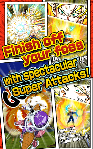 android DRAGON BALL Z DOKKAN BATTLE Screenshot 4