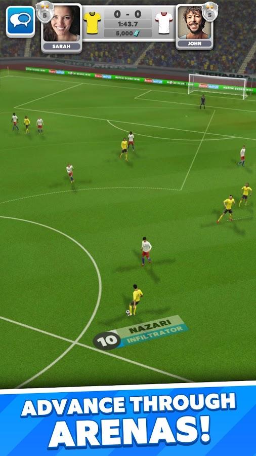 Score! Match – zrzut ekranu